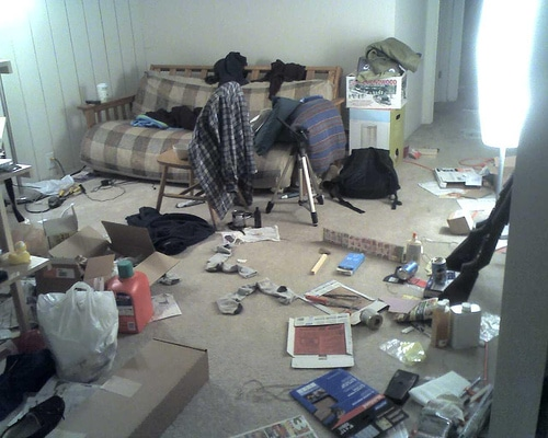 How to Clean a Really Messy Room?