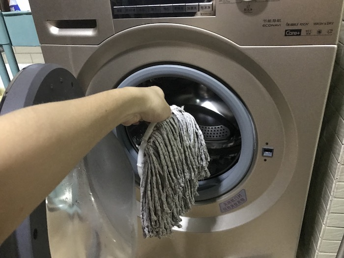 How To Wash Spin Mop Head In Washing Machine?
