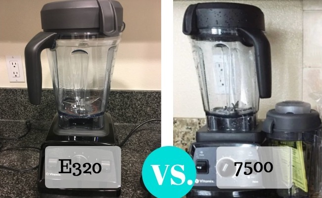 Vitamix E320 vs Vitamix 7500